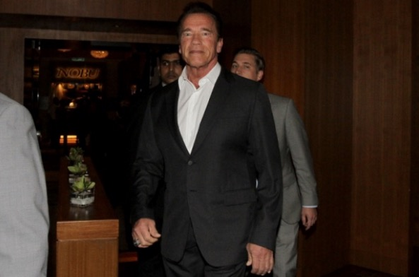 Najib Razak Dan Bintang Terminator Arnold Schwarzenegger Bertemu di Majlis Makan Malam di KLCC