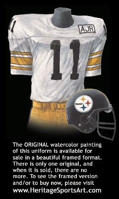 Pittsburgh Steelers 1988 uniform