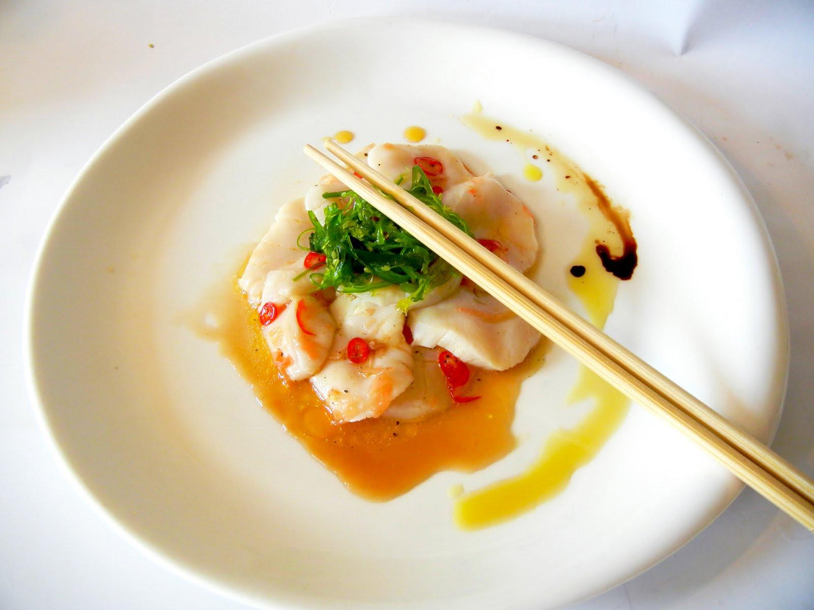 Derek's Kitchen: Asian Style Scallop Ceviche