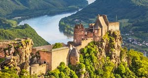 Castelo Aggstein - Wachau, Baixa Áustria, Austria