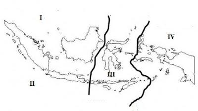 Peta Fauna di Indonesia