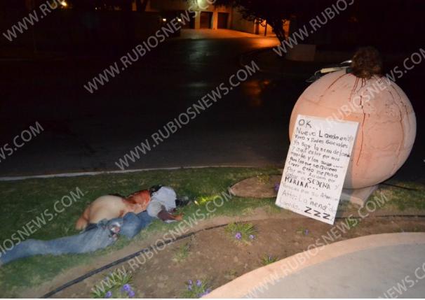 Los Zetas Gang Woman Killed