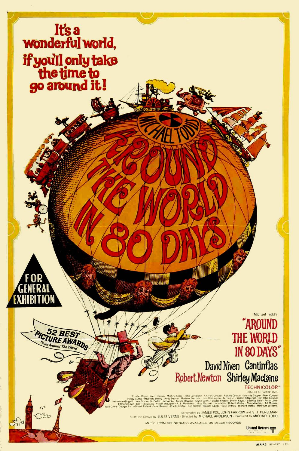 Around the world in 80 days 1956 dvd