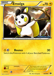 Emolga Pokemon Card Next Destinies Set