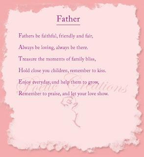 giliran puisi untuk ayah. Biar adil, ada Ibu, pastinya harus ada ayah