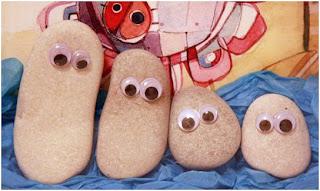 Μια οικογένεια φτιαγμένη από βότσαλα