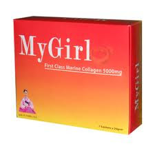 MyGirl First Class Collagen - Untuk kecantikan yang tiada tandingannya.