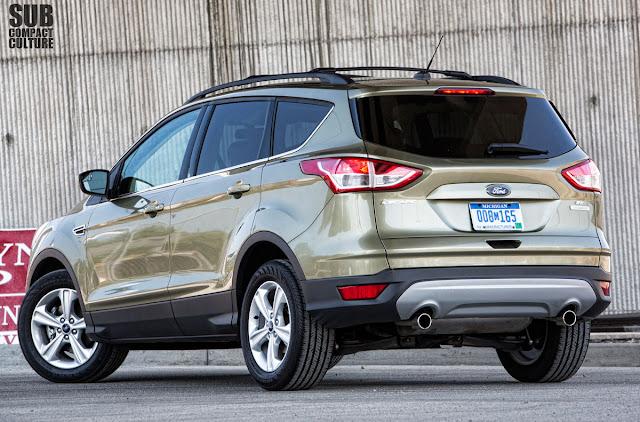 2013 Ford Escape SE rear 3/4