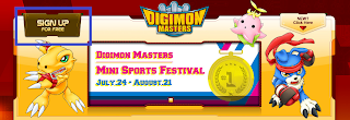digimon masters online sign up