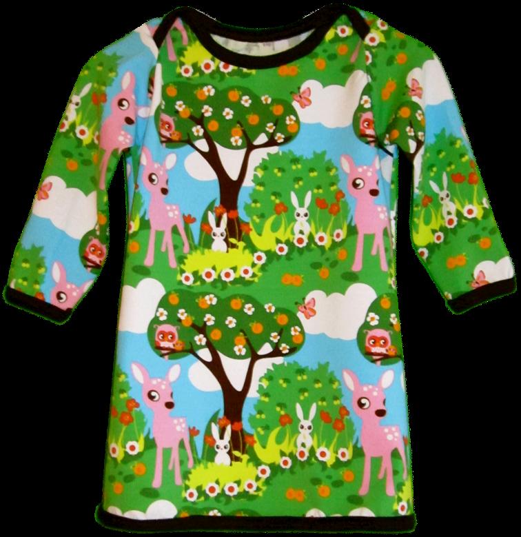 Fabrik der Träume: Kostenlose Nähanleitung für ein Babykleid aus Jersey
