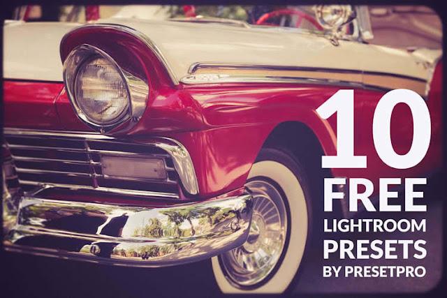 10 Free Vintage Presets