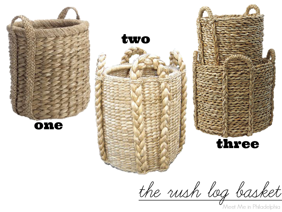five easy pieces_rush baskets via Meet Me in Philadelphia