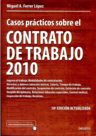 Casos prácticos sobre el Contrato de Trabajo 2010