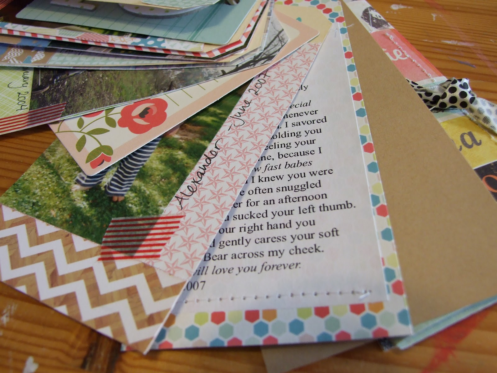 How to put scrapbook back together - Sometimes Though I Really Want To Just Look Back At The Past And Scrapbook About It