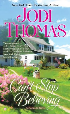 Excerpt/Promo + Giveaway – Can't Stop Believing by Jodi Thomas