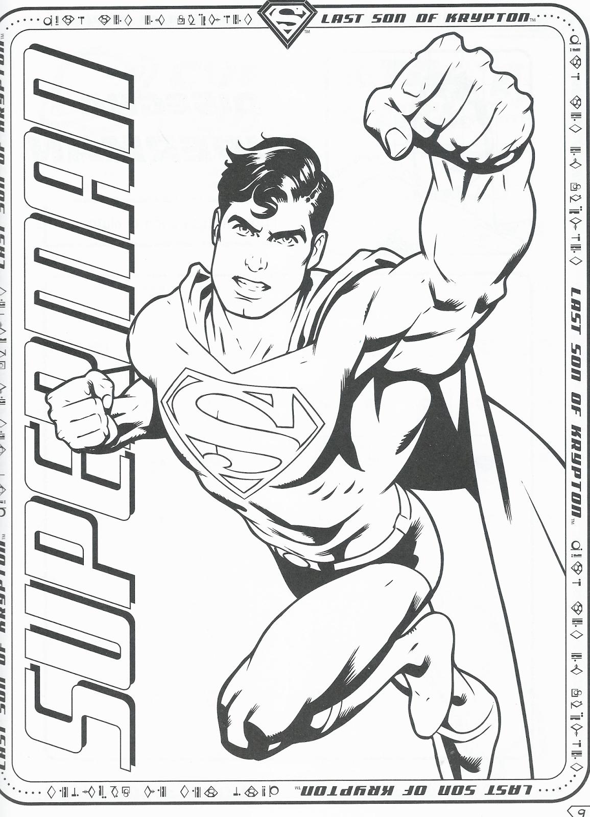 Disegni da colorare superman disegni da colorare for Disegni da colorare per adulti e ragazzi