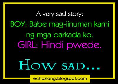 A very sad story of a boyfriend