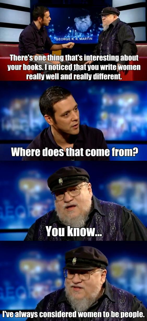 George R. R. Martin on Women