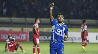 Persib Bandung Menang 4-0 atas Martapura FC (Video Gol)