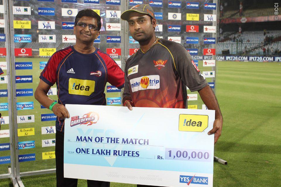 Amit-Mishra-Man-of-the-Match-DD-vs-SRH-IPL-2013