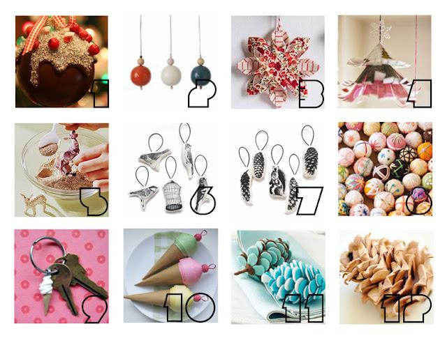 I D L E W I F E Christmas Ornament Ideas