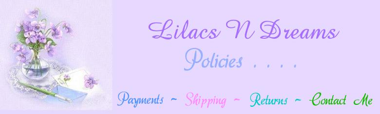 Policies ~ Contact Me