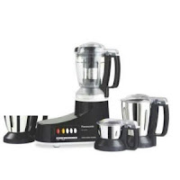 Panasonic MX-AC400 4-Jar Super Mixer Grinder at Rs. 4379 : buytoearn