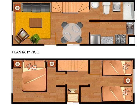 Planos de casas modelos y dise os de casas planos de for Modelos de casas de madera de un piso