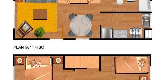 Planos de casas modelos y dise os de casas planos de - Casas de madera de dos plantas ...