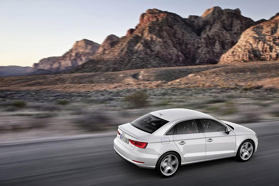 Audi forneceu uma lista razoável de equipamentos de segurança para a A3