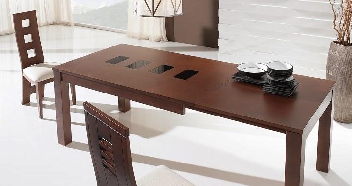 Marzua mesas extensibles para el comedor for Mesas de comedor extensibles