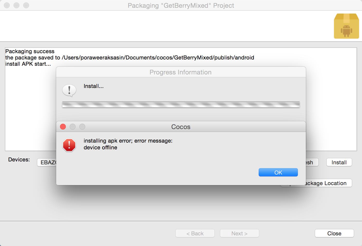 developer options apk