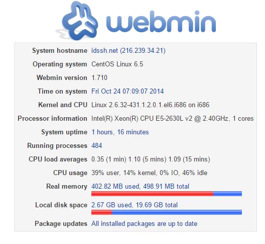 Script Auto Install Webmin, Dropbear pada VPS CentOS 6 32/64 bit