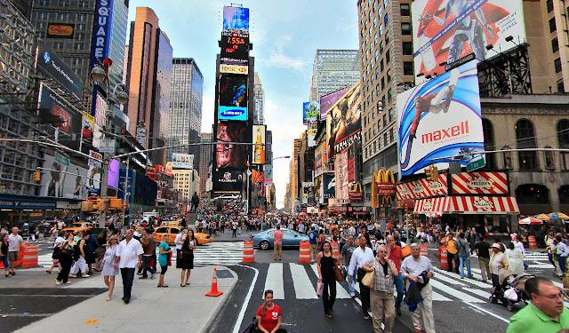 Lugares mais bonitos do mundo:  Times Square