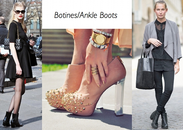 moda, botines, ankle boots