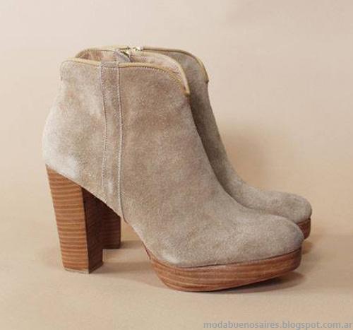 Botas invierno 2014 Priscila Bella. Moda invierno 2014 calzado femenino.