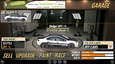Drag Racer v3 Hacked Category: Hacked Racing Games Cheat: Buy Any Car
