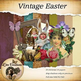 Freebie-Vintage Easter