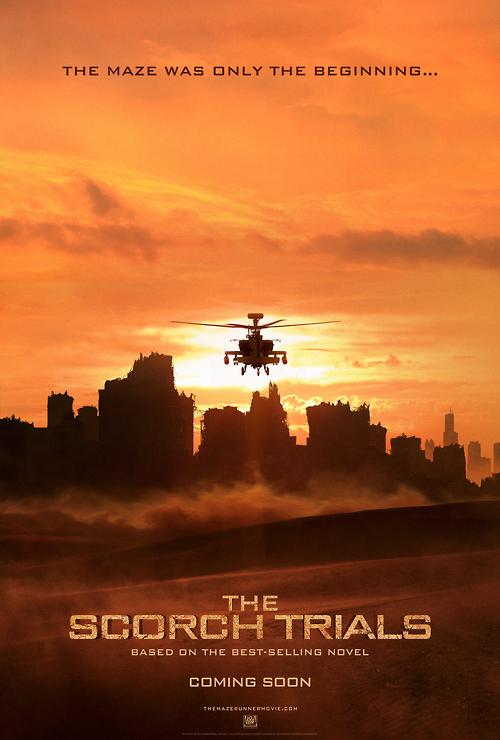 Maze Runner: The Scorch Trials FIrst Official Trailer.
