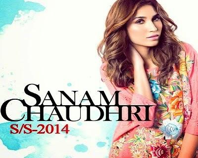 Sanam Chaudhri Spring Summer Dresses