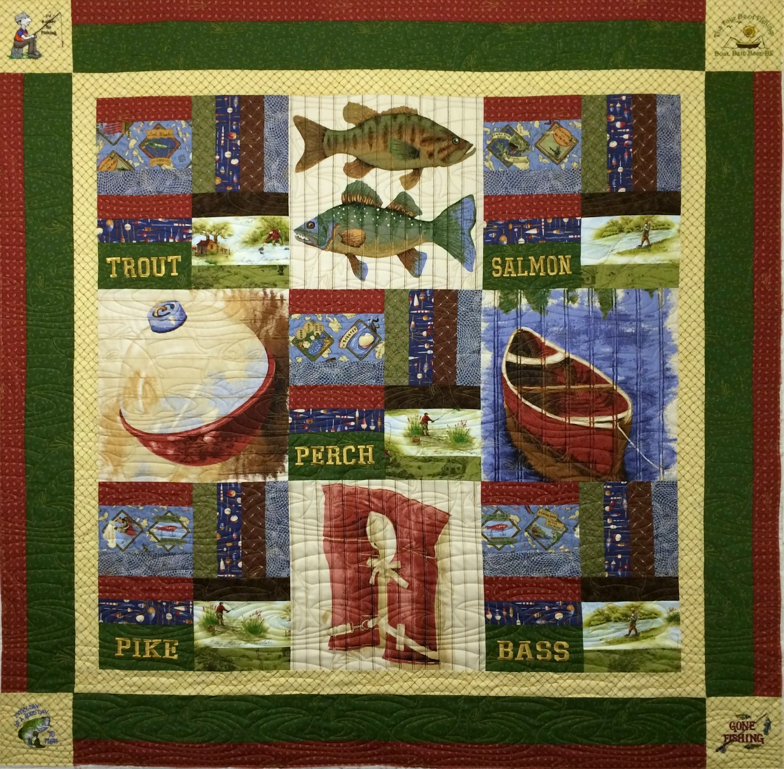 Leanne Strum's Fisherman's Quilt