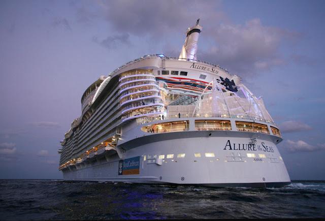 Dentro del Allure of the Seas. Lo que no se ve