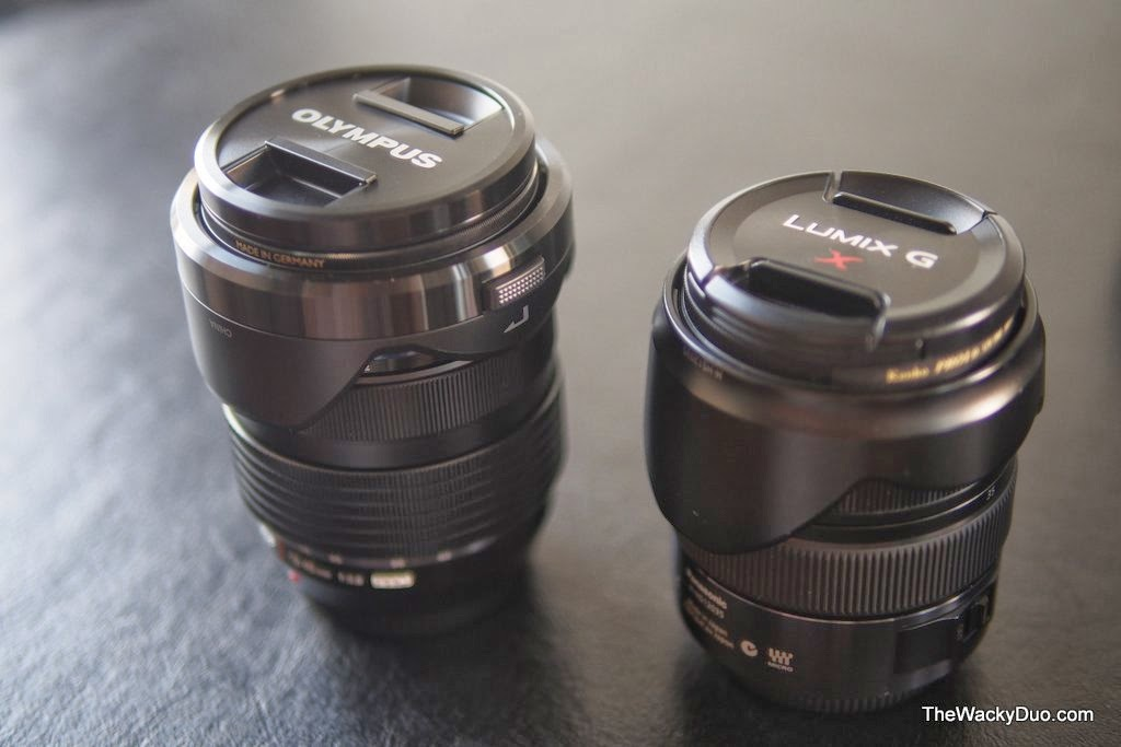 Olympus 12-40mm vs Panasonic 12-35mm | The Wacky Duo | Singapore ...