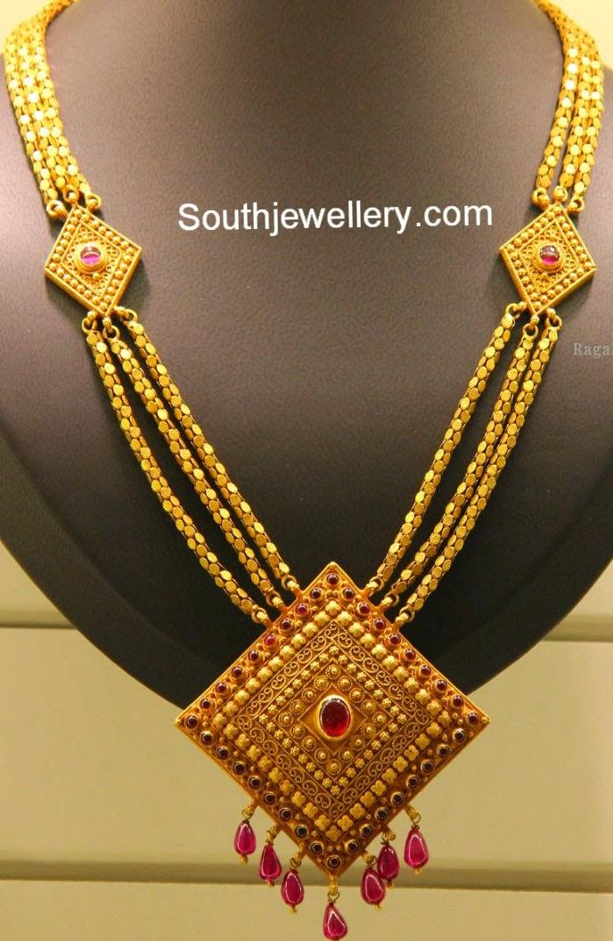 Fashion Jewel Crush: Gold Necklace Designs Images Downlaod
