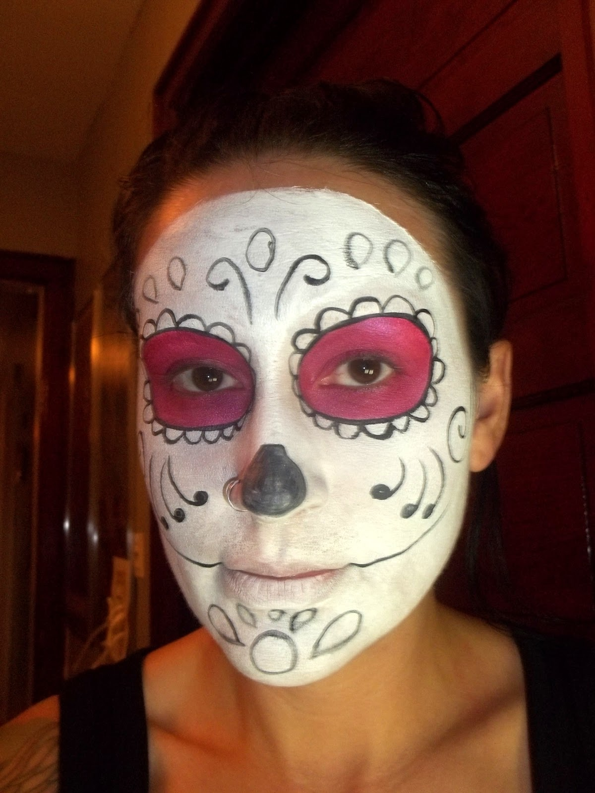 Bethezda Preoccupations Sugar Skull Makeup Tutorial