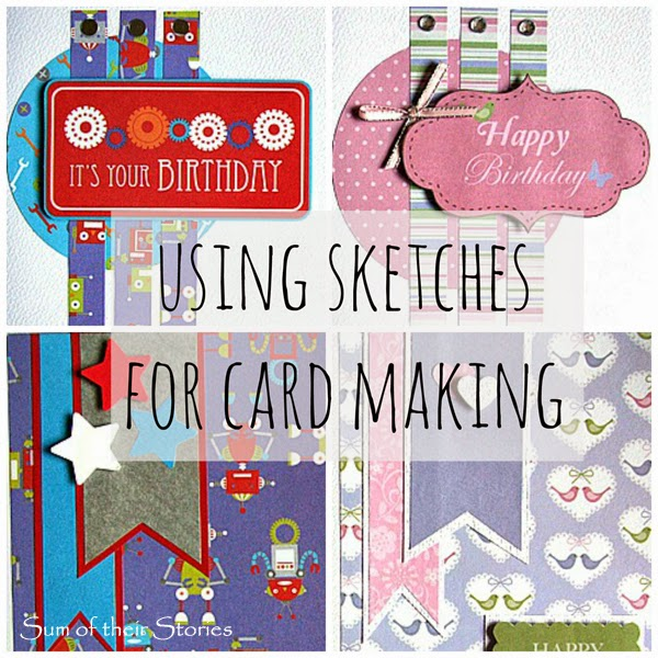 Using Sketches for Card Making