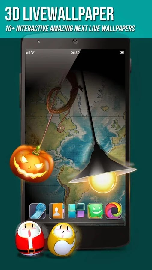 Next Launcher 3D Shell v3.21 Patched