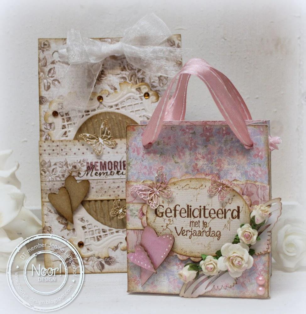 Jenine S Card Ideas Punchboard We R Memory Keepers Gift Bag