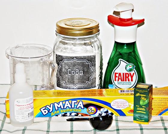 Средства для посудомойки своими руками