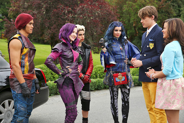 disney descendants style